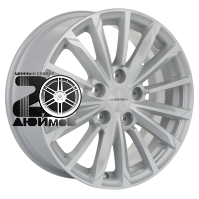 Khomen Wheels, KHW1611 (Mazda 3), 6,5x16/5x114,3 ET45 D67,1  F-Silver