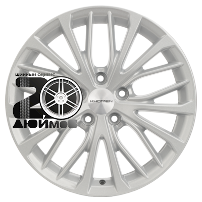 Khomen Wheels, V-Spoke 705 (ZV 17_Juke), 7x17/5x114,3 ET47 D66,1  F-Silver