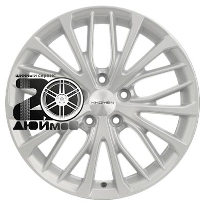 Khomen Wheels, V-Spoke 705 (ZV 17_Octavia), 7x17/5x112 ET49 D57,1  F-Silver